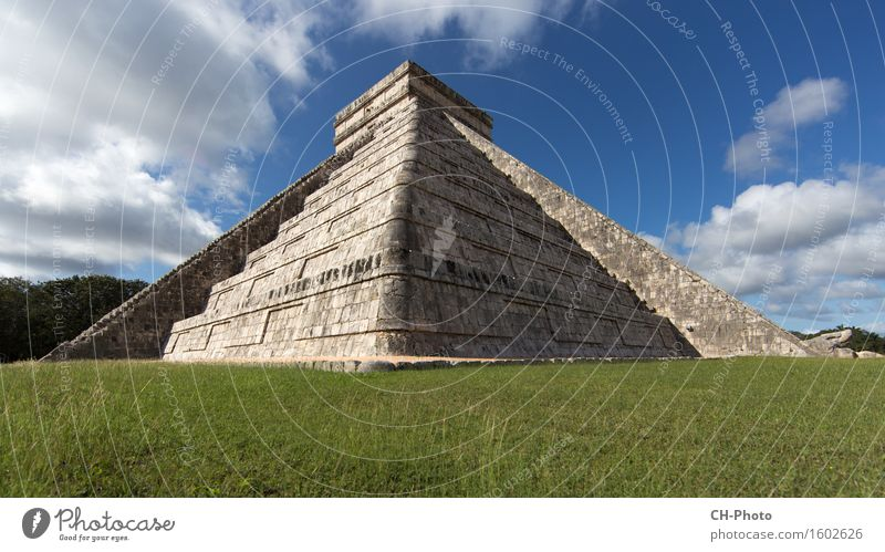 Chicen Itza Yucatan Vacation & Travel Town Religion and faith America Maya Mexico pyramid stone ancient archaeological archaeology archeology architecture
