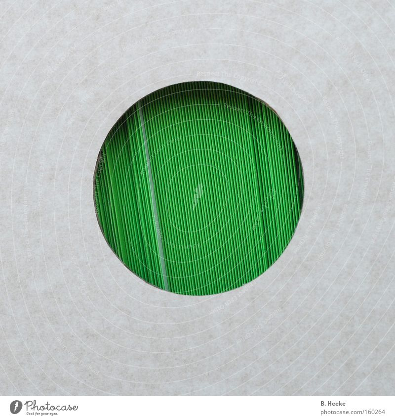 Green Paper Circle Round Near Square Box Collection Cardboard Envelope (Mail) Insight