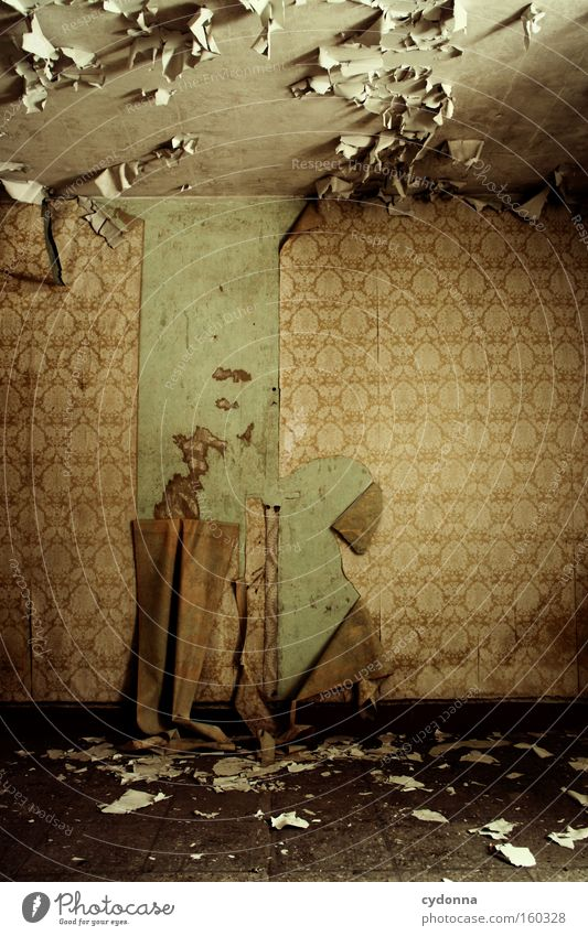 Old Life Room Background picture Time Retro Living or residing Transience Wallpaper Derelict Decline Destruction Memory Location Stick Military building