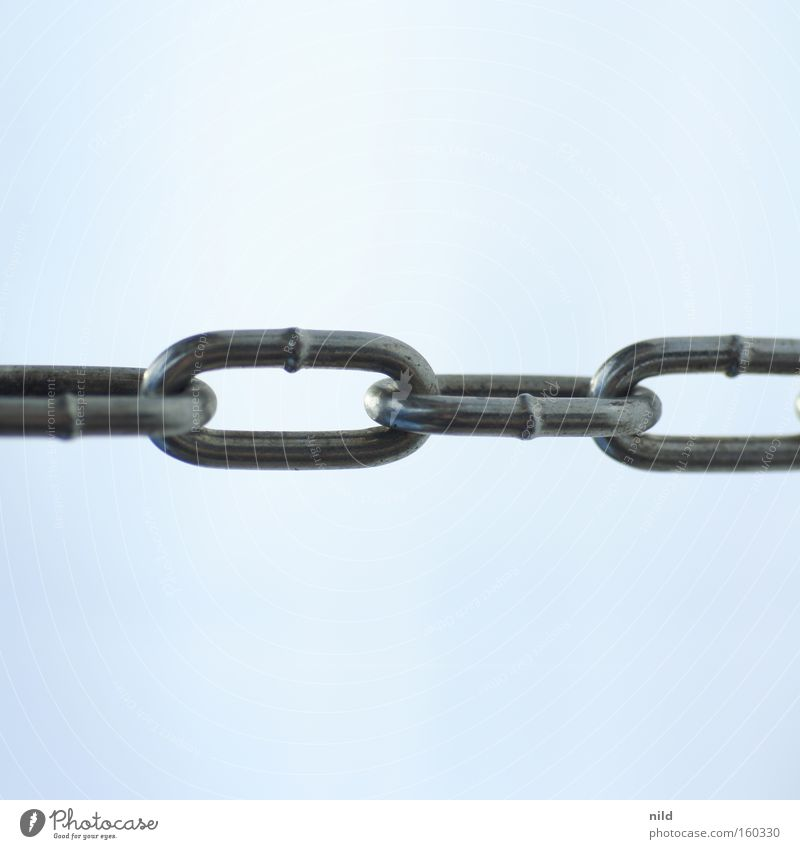liaison Chain Attachment Chain link Connectedness Agreed Society Strong Robust Massive Iron Steel Stainless Safety Power Force Network