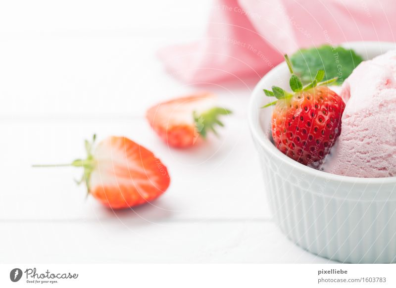 Fruity summer Food Yoghurt Dairy Products Dessert Ice cream Candy Nutrition Eating To have a coffee Vegetarian diet Diet Italian Food Healthy Health care