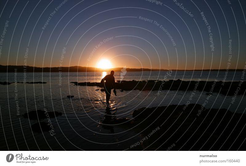 Man Sun Ocean Joy Relaxation Freedom Horizon To enjoy Events Australia Barefoot Kangaroo