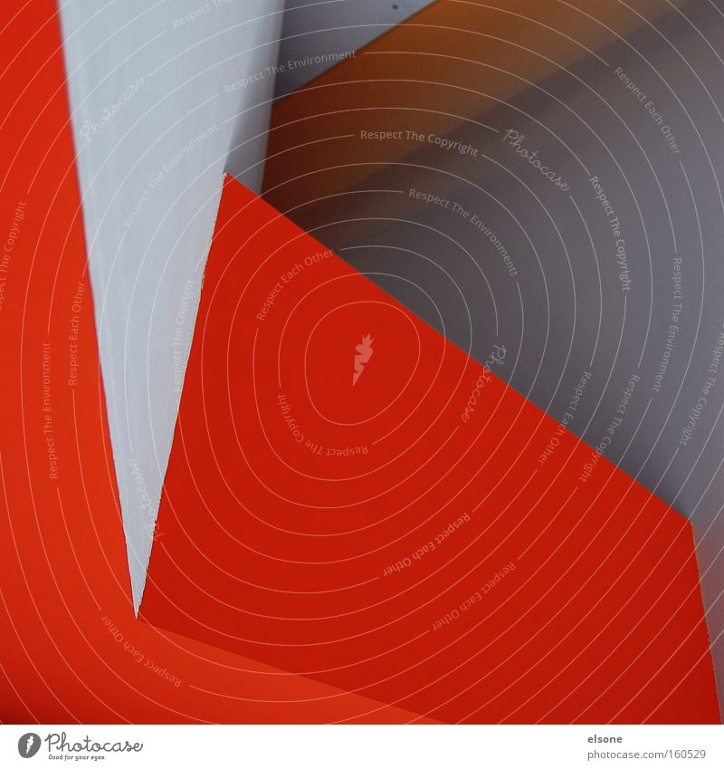 NEON GREYS Orange Graphic Illustration Structures and shapes Detail Abstract Line Red White Interior design Architecture Wall (building) edge triangle elson