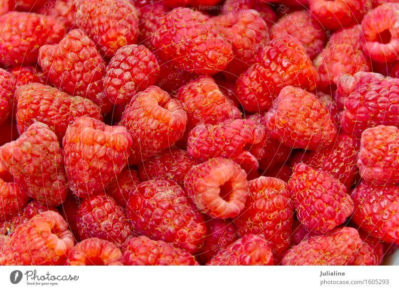 Background fresh red raspberry Red Fresh Berries Vegetarian diet Raw Organic Raspberry