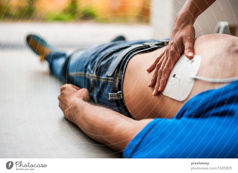 """defibrillator pad Healthy Health care Medical treatment Human being 2 """"resuscitation,"""" cpr aed cardiopulmonar resuscitation cardiac massage defibrillation"""