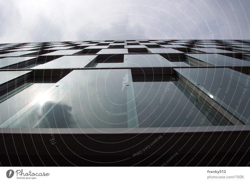 façade House (Residential Structure) Facade Architecture Glass. Düsseldorf Sky