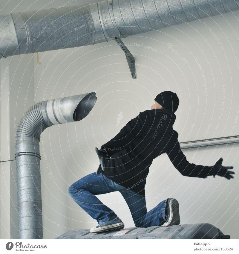 Human being Man Metal Air Communicate Telecommunications Metalware Pipe Iron-pipe Chimney Loud Aluminium Speaking tube