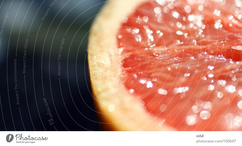 Healthy Fruit Pink Sweet Anger Delicious Vitamin Juicy Tomato Juice Macro (Extreme close-up) Citrus fruits Grapefruit