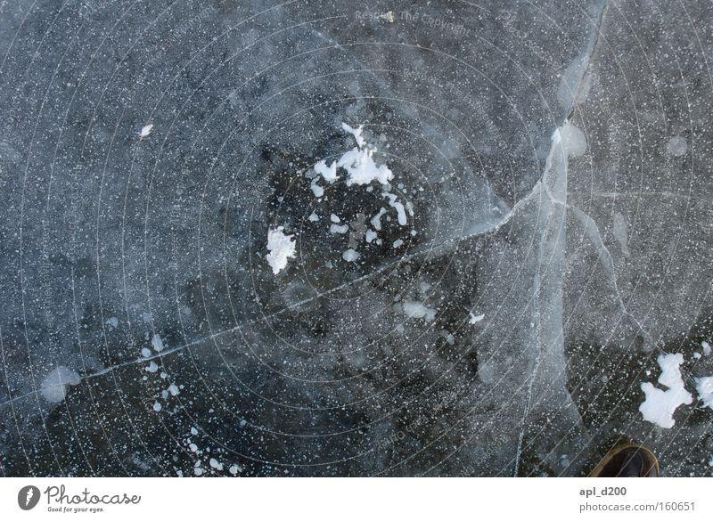 icebreaker Ice To break (something) Gray White Mirror Smoothness Broken Stitching Bubble Oxygen Twig Pattern Winter