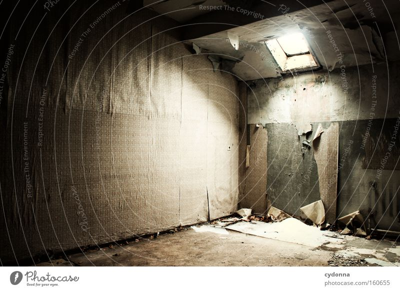 Winter Life Snow Window Room Time Transience Wallpaper Derelict Decline Destruction Memory Location Attic Vacancy Hatch
