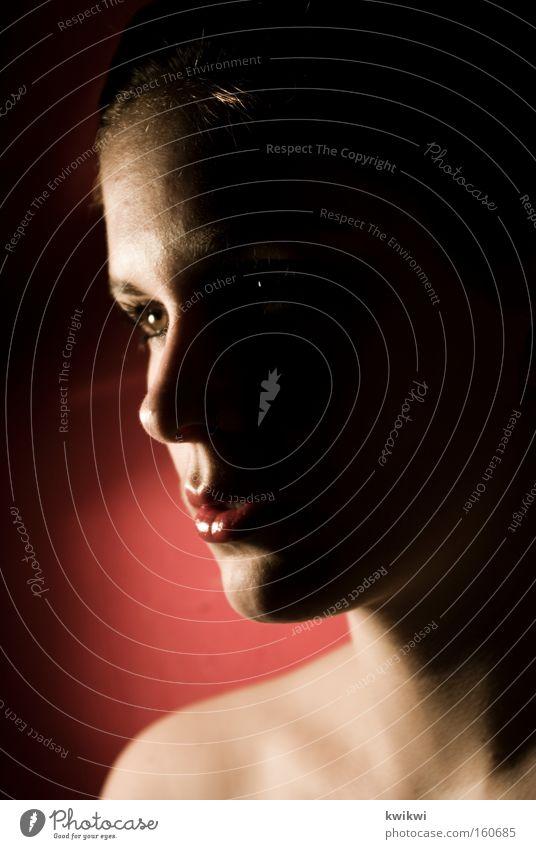 Woman Beautiful Adults Face Esthetic Grief Distress Portrait photograph