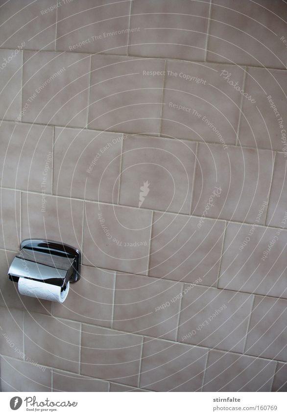Wall (building) Bathroom Toilet Hotel Tile Store premises Beige Chrome Bracket Toilet paper