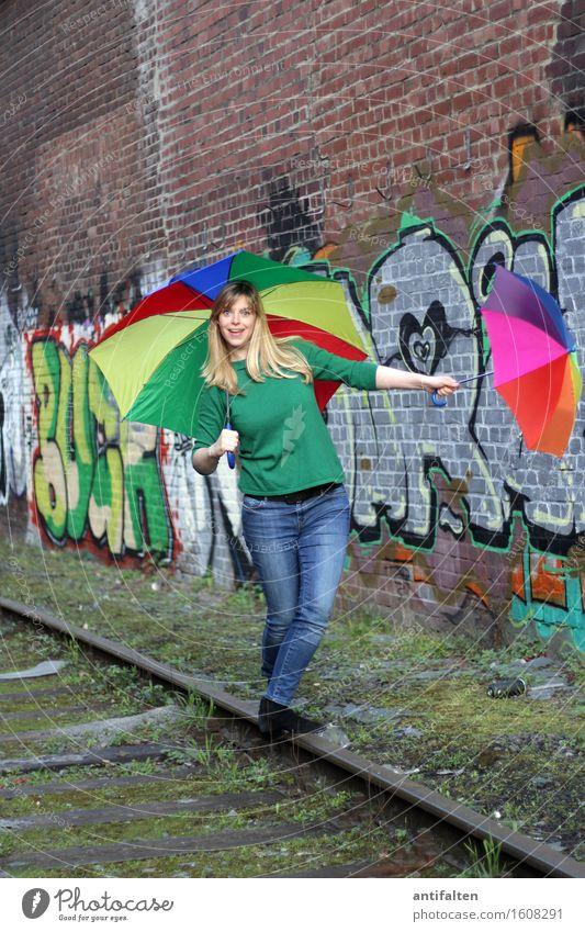 Human being Woman Hand Face Adults Life Graffiti Natural Feminine Healthy Legs Happy Head Friendship Body Blonde