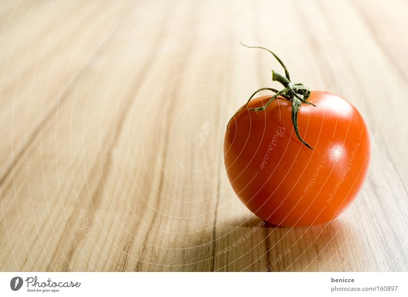 Red Nutrition Healthy Food Vegetable Tomato Copy Space Board
