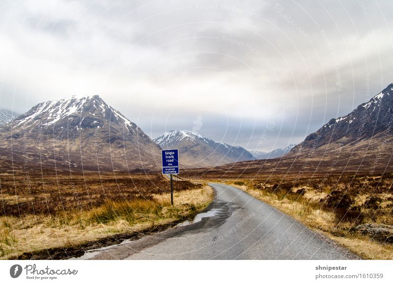 Glen Etive Relaxation Vacation & Travel Tourism Trip Adventure Far-off places Freedom Mountain Hiking Nature Landscape Sky Clouds Climate Climate change