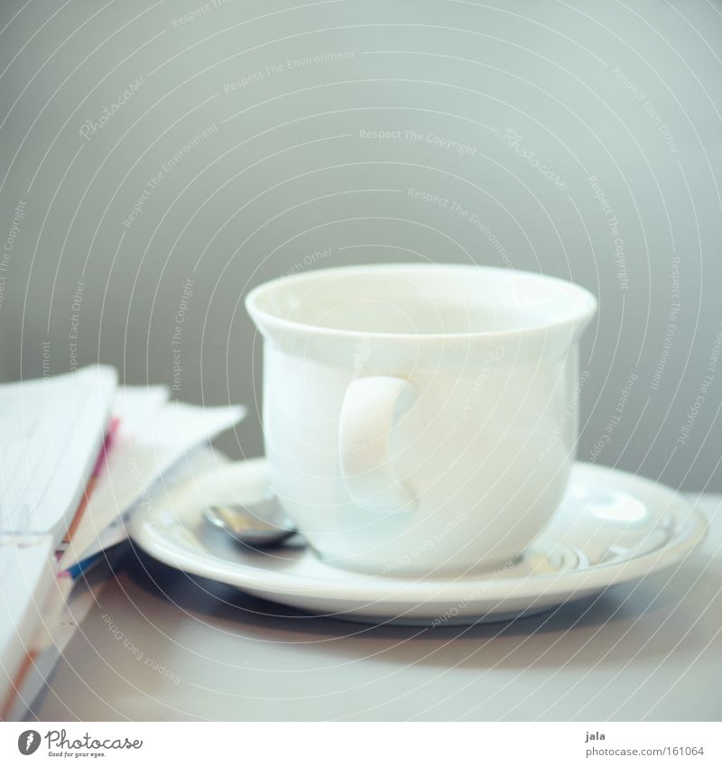 White Table Break Coffee Crockery Services Cup Customer Contract