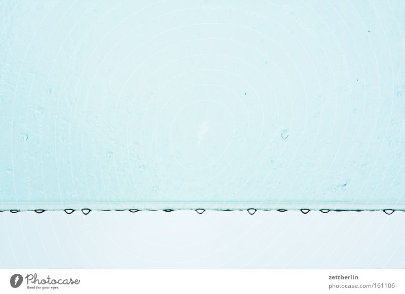 Water Sky Blue Rain Glass Weather Drops of water Roof Row Window pane Slice Low pressure zone Weatherproof