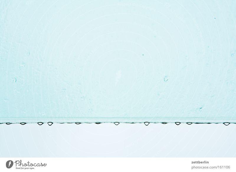 Water Sky Blue Rain Glass Weather Drops of water Roof Drop Row Window pane Slice Low pressure zone Weatherproof