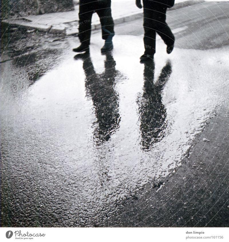 Human being Street Legs 2 Going Wet Analog Medium format Andorra