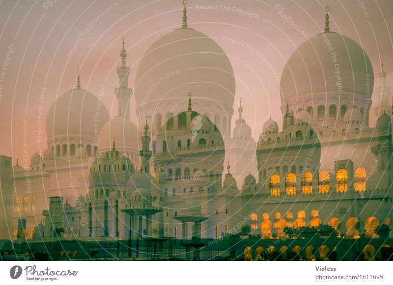 dreamland Sheikh Zayid Mosque Capital city Manmade structures Building Architecture Tourist Attraction Landmark Monument Esthetic Exceptional Historic Clean