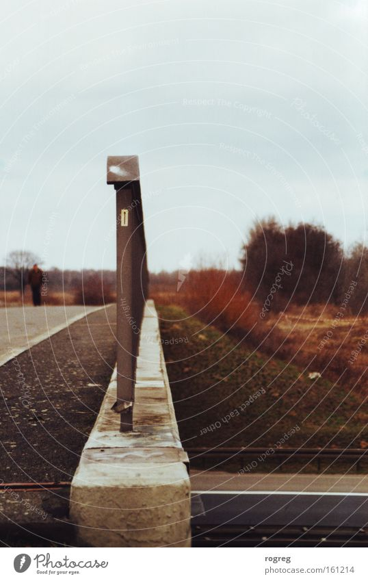 Nature Street Autumn Arrow Handrail Afternoon Highway Underpass Highway junction