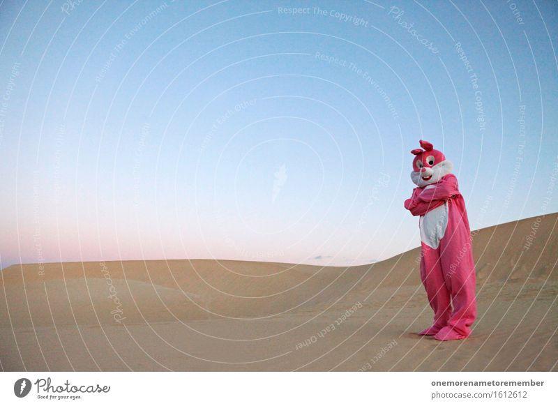 Art Pink Esthetic Youth culture Dune Hare & Rabbit & Bunny Surrealism Aggression Costume Dress up Ghetto Defensive Interlock Interlocked Hare ears Defensiveness