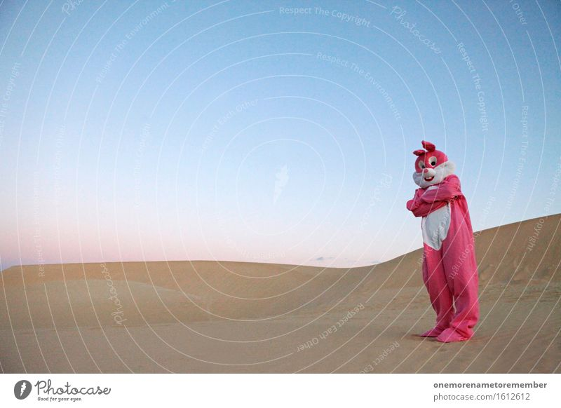 BROBUNNY Art Esthetic Pink Hare & Rabbit & Bunny Hare ears Rabbit's foot Ghetto Interlocked Defensiveness Costume Dress up Dune Youth culture Aggression