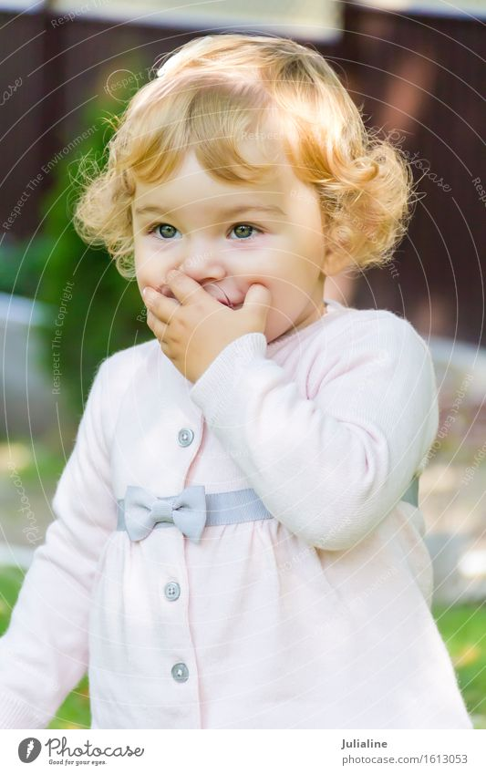 Cute baby girl suckle nipple Child Human being Baby Girl Boy (child) Woman Adults 1 0 - 12 months White Newborn Nipple kid one two three year First European