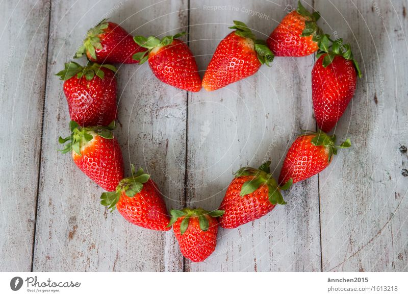 Green Summer Healthy Eating Red Dish Love Spring Heart Infatuation Berries Strawberry Mother's Day