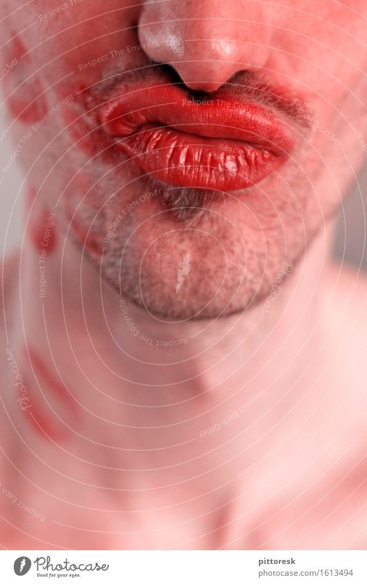 Youth (Young adults) Man Young man Eroticism Face Love Art Masculine Esthetic Skin Smiling Mouth Nose Pure Lips Passion