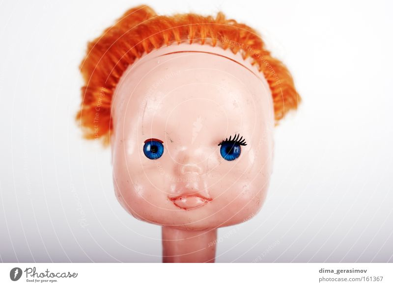 Doll 12 Fear Nightmare Hair Panic Colour plaything Toys Frightening Blue Legs arms Head Eyes Lips Interior shot