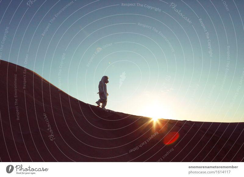 shifting dune Art Work of art Esthetic Polar Bear Sand Dune Wilderness Far-off places Hiking Travel photography Walking Dreamily Surrealism Planet