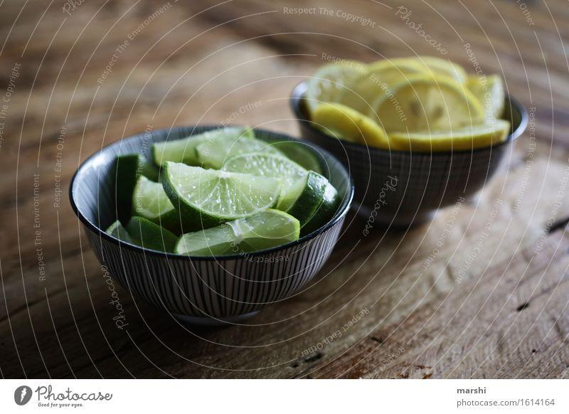 Limes & Lemons Food Fruit Nutrition Eating Lemonade Moody Yellow Green Lemon yellow Bowl Sour Sense of taste Tasty Colour photo Interior shot Close-up Detail