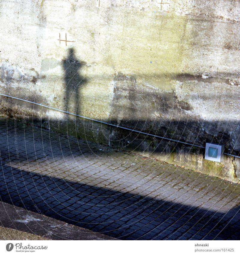 Man Sun Wall (building) Lanes & trails Garden Wall (barrier) Park Bridge Handrail The Ruhr Bridge railing Photographer Self portrait Bochum