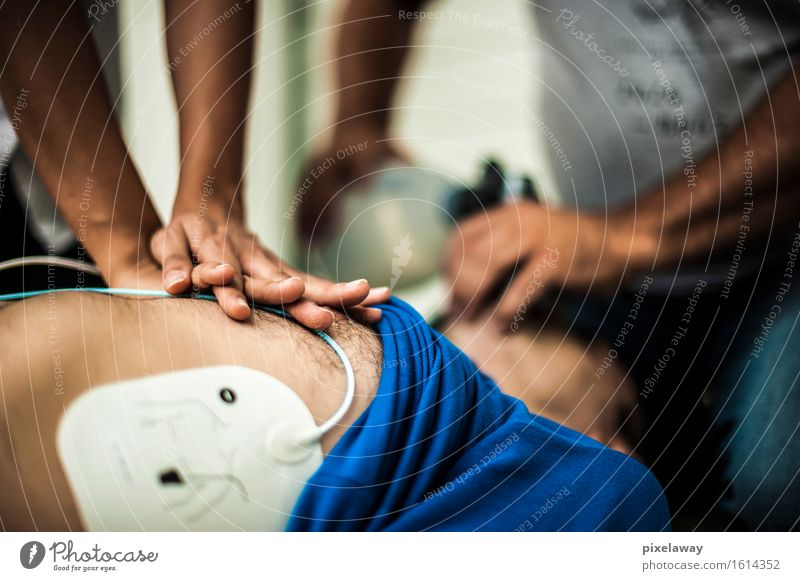 resuscitation Healthy Health care Medical treatment Human being 3 aed cardiopulmonaryresuscitation cardiac massage Heart attack electrodes Unconscious Emergency