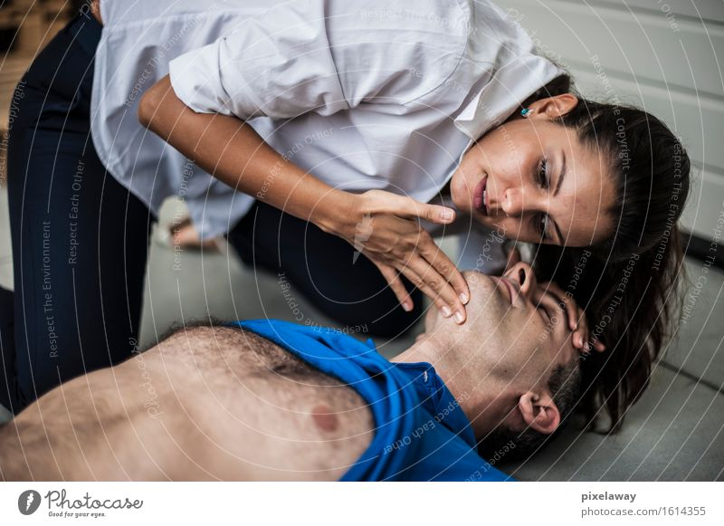 breathing Healthy Health care Medical treatment Human being 2 resuscitation cpr aed Cardiopulmonar resuscitation Cardiac massage Defibrillation First Aid