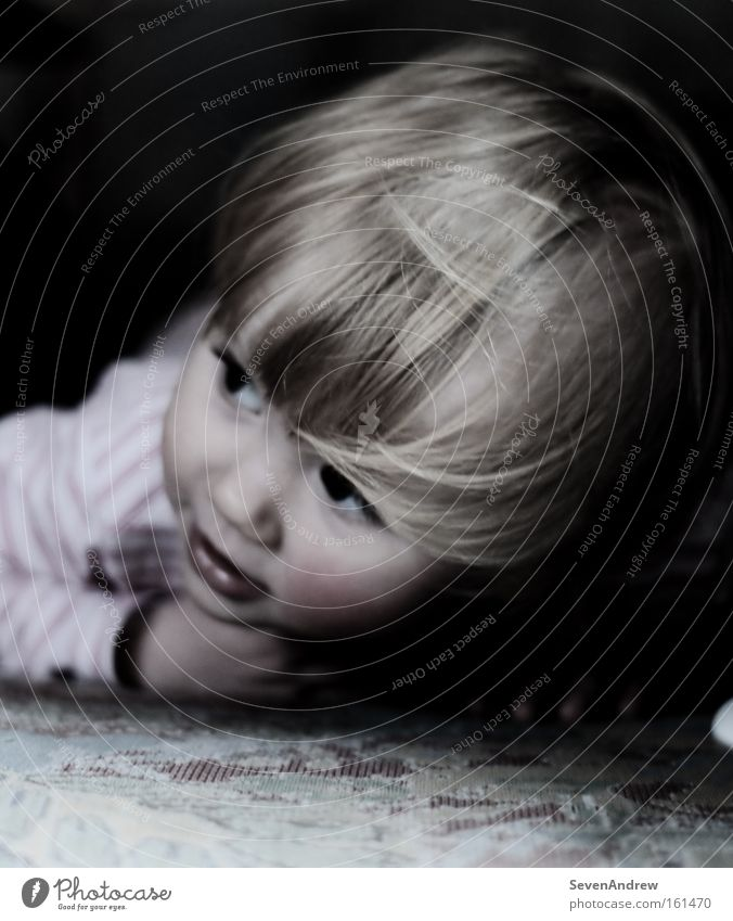 kinderträume Child Girl Playing Dream Blonde Ground