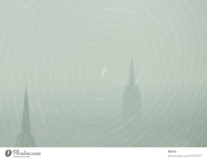 Sky 2 Fog Weather Large Church Vantage point Haze April House of worship Church spire Overview Hail Gray-blue