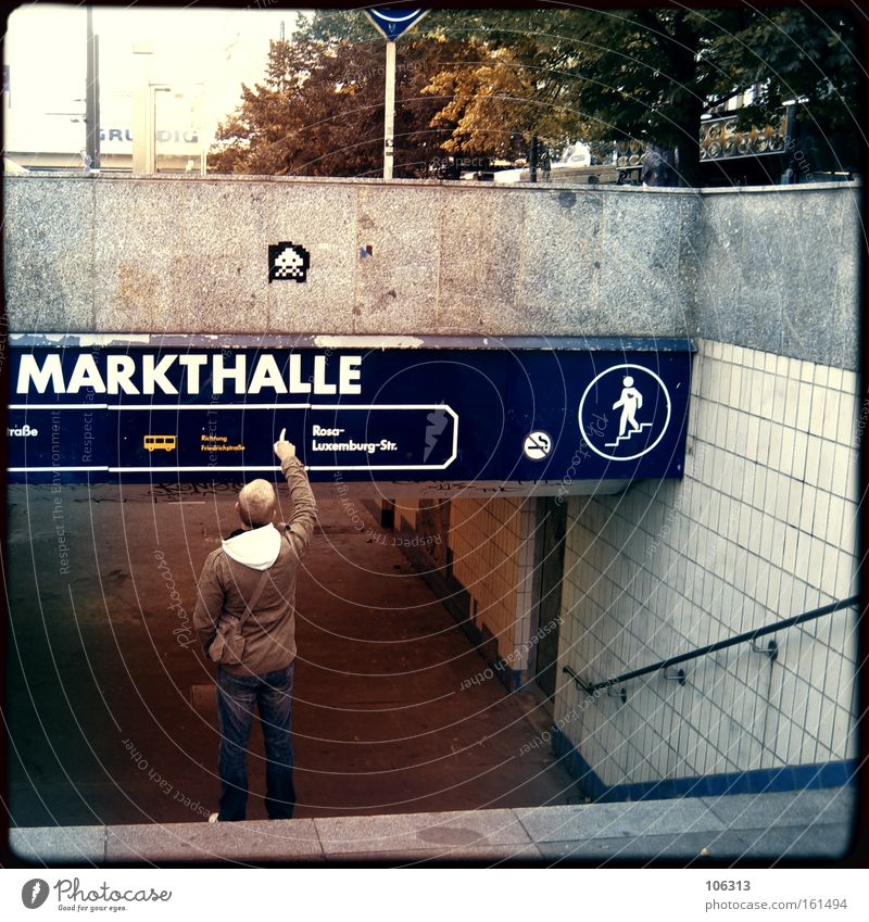 Man City Berlin Fingers Guy Tourist Indicate Capital city Placed Arranged Production Covered market