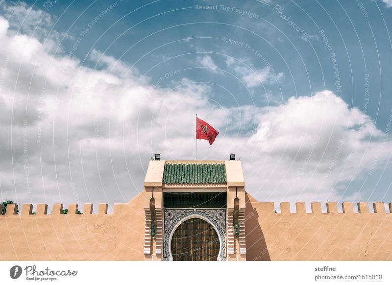 Arabian Dream I Morocco Orient vacation Tourism Flag Palace Marrakesh