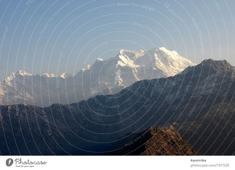 himalayan Mountain Landscape India Hiking Glacier Glacier National park Nature mountains Himalayas peak Point