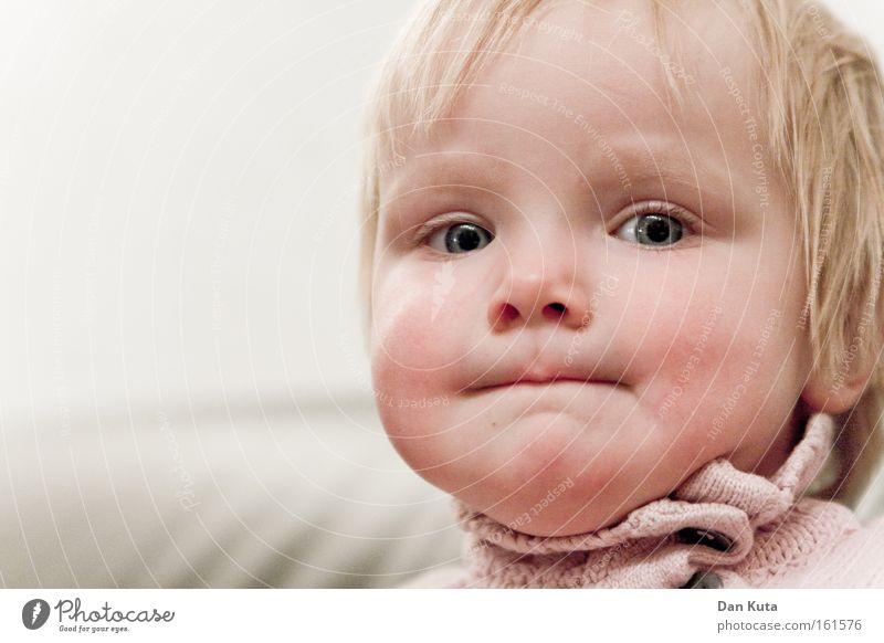 I'm sick of this! Child Toddler Sulk Portrait photograph Defiant Lips Crisis Resolve Emotions Direct Blonde Sweet Dangerous Contentment Girl