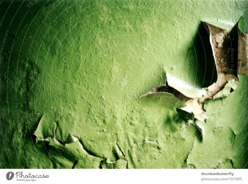 Old Green Colour Wall (building) Stone Background picture Transience Wallpaper Derelict Decline Dismantling Varnish Flake off