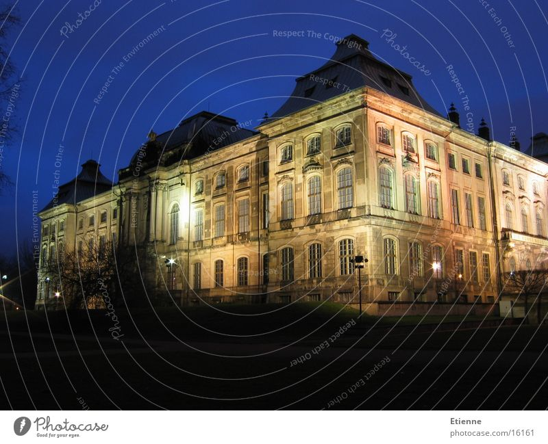 Japanese Palais Dresden Night Long exposure Historic