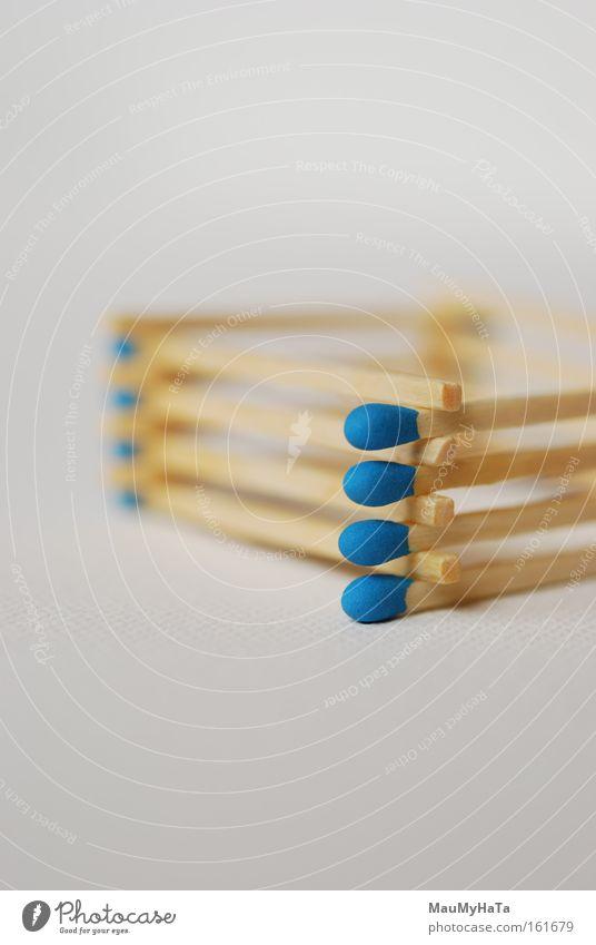 Chopstiks Blue White Match Handle