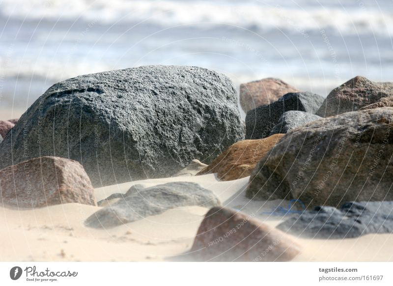 Summer Beach Stone Sand Earth Coast Wind Transience Gale Moon Surf Dust Mars Minerals Planet