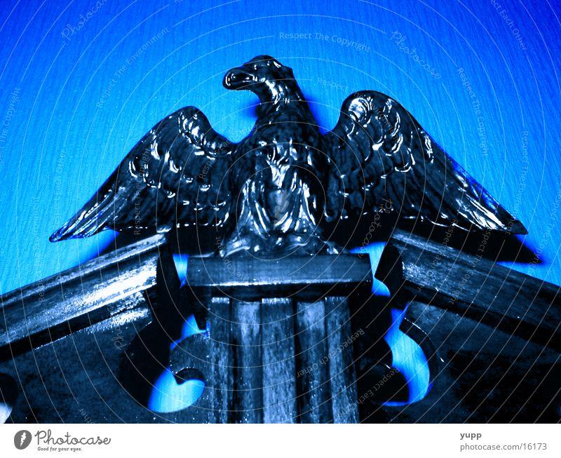 eagles should fly Eagle Wood Art Craft (trade) Blue