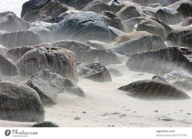 Summer Beach Stone Sand Wind Earth Gale Universe Moon Planet Dust Sandy beach Grain of sand Lunar landscape Sandstorm