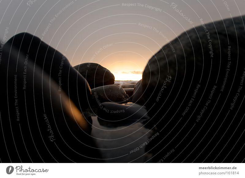 Water Sun Ocean Dream Stone Waves Romance Release