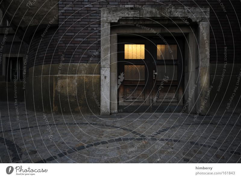 City House (Residential Structure) Dark Wall (building) Window Wall (barrier) Building Fear Architecture Germany Door Facade Construction site Castle Monument
